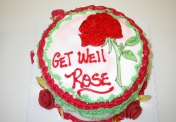W- Get well Rose