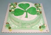 W-Shamrock cake