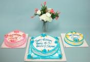 W-Three cake sizes